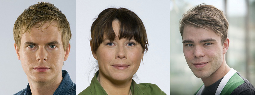 Fridolin, Romson och Wallner