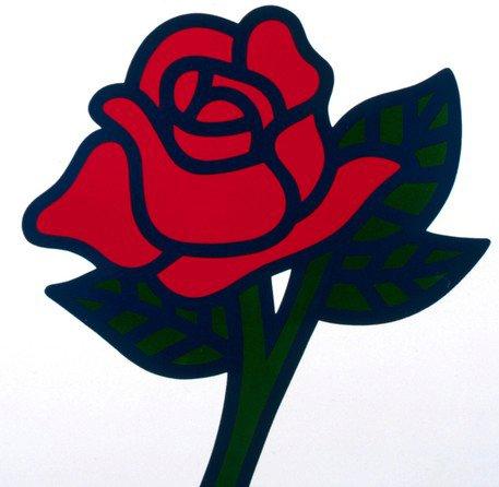 Den socialdemokratiska rosen